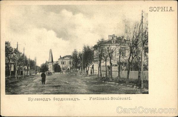 Ferdinand Boulevard Sofia Bulgaria Greece, Turkey, Balkan States
