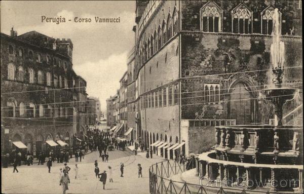 Corso Vannucci Perugia Italy