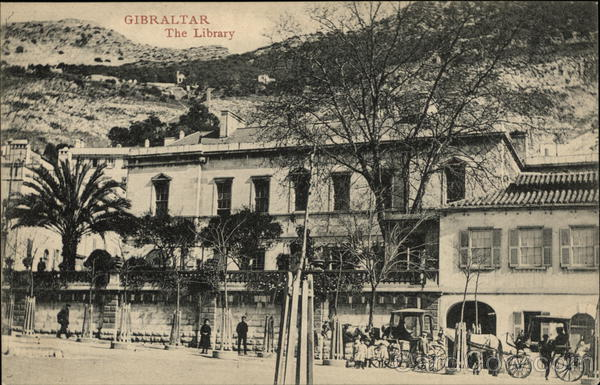 The Library Gibraltar Spain, Portugal