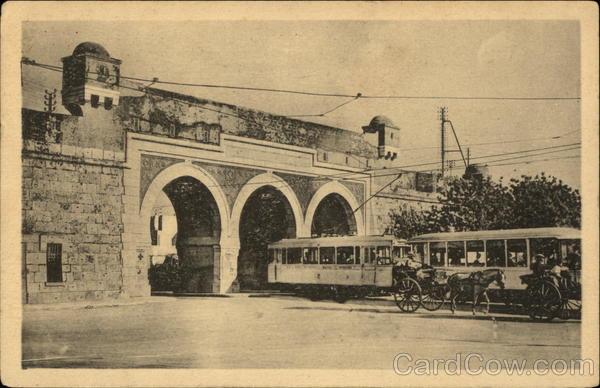 Bab Saadoun Tunis Tunisia Africa Trolleys & Streetcars
