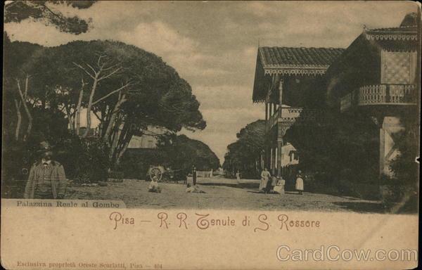 R.R. Tenute di S. Rossore - Palazzina Reale al Gombo Pisa Italy