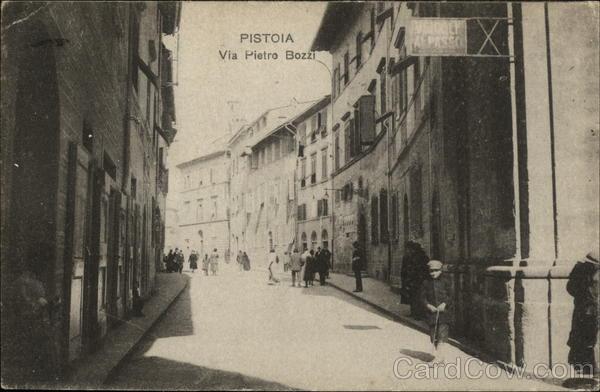 Via Pietro Bozzi Pistoia Italy
