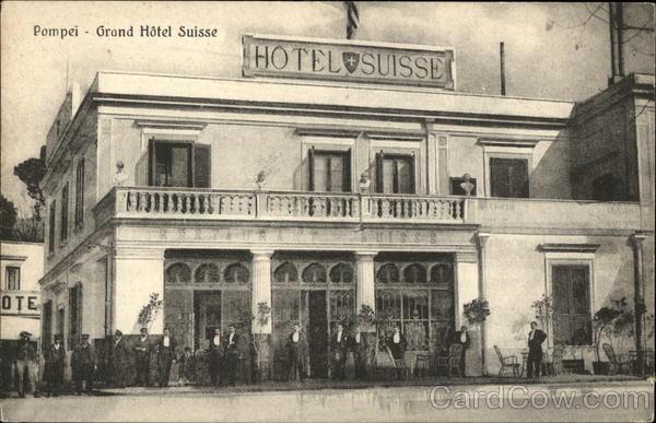 Grand Hotel Suisse Pompei Italy
