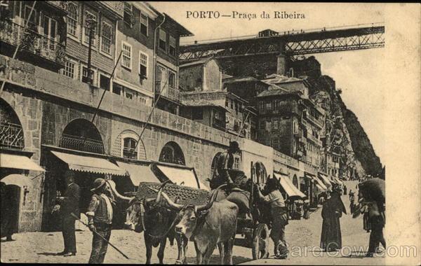 Praca da Ribeira Porto Portugal Spain, Portugal
