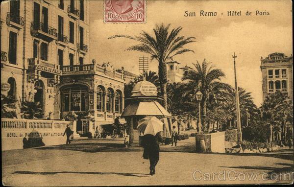 Hotel de Paris San Remo Italy