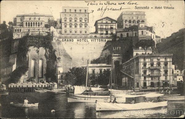 Hotel Vittoria Sorrento Italy