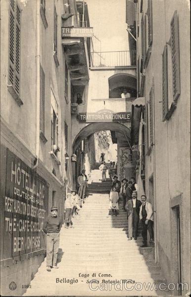 Salita Antonio Mella Bellagio Italy