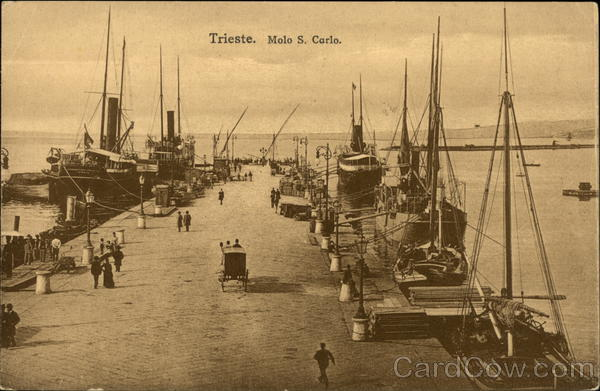 Molo S. Carlo Trieste Italy