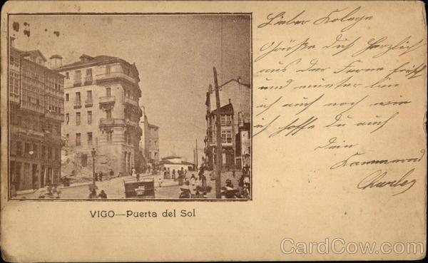Puerta del Sol Vigo Spain Spain, Portugal