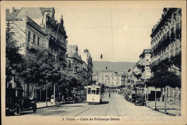Calle de Policarpo Saenz Vigo Spain Spain, Portugal