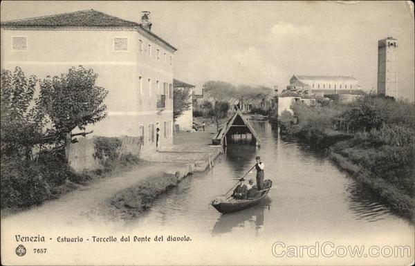 Estuario - Torccella dal Ponte del Diavolo Venice Italy