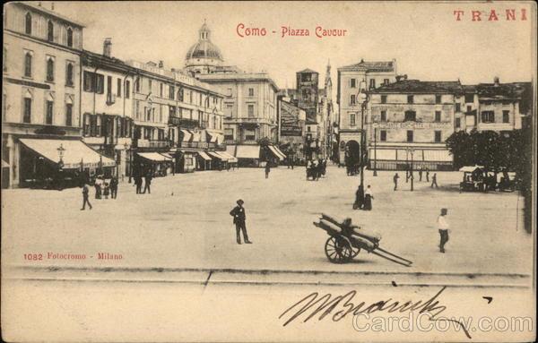 Piazza Cavour Como Italy