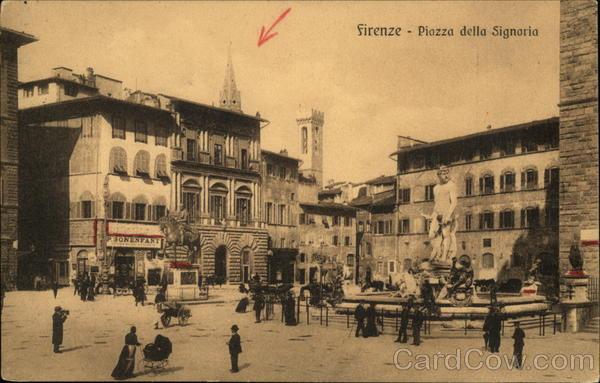 Piazza della Signaria Florence Italy