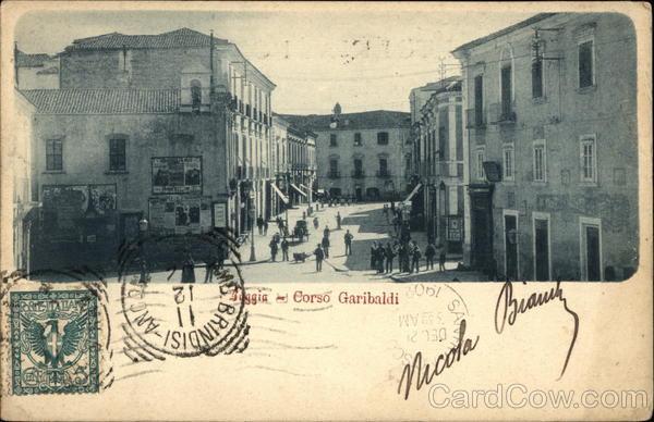 Corso Garibaldi Foggia Italy