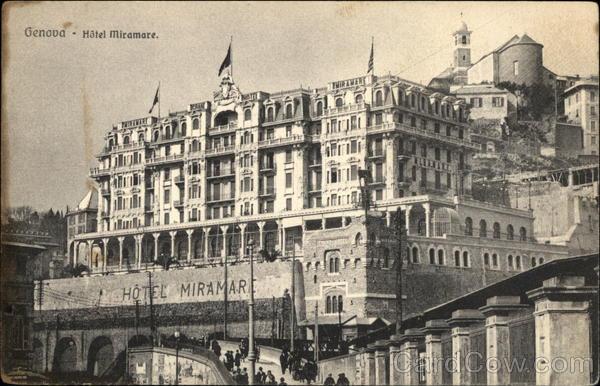 Hotel Miramare Genoa Italy