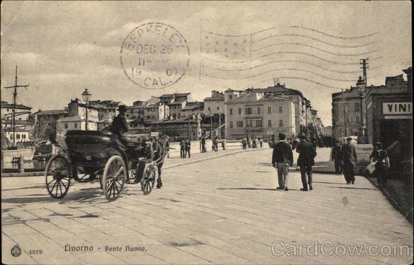 Ponte Nuovo Livorno Italy