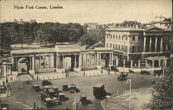 Hyde Park Corner London England