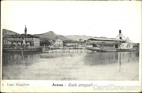 Scalo Piroscafi, Lago Maggiore Arona Italy