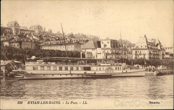 Evian-Les-Bains - Le Port. - LL France