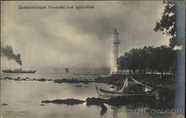 Fanaraki Vue Splendide Constantinople Turkey Greece, Turkey, Balkan States