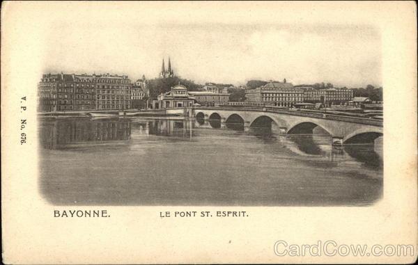Le Pont St. Esprit Bayonne France