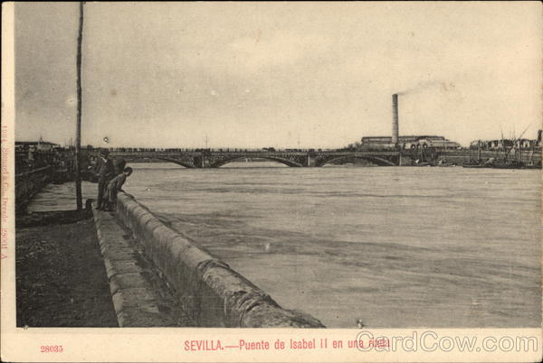 Puente de Isabel II Sevilla Spain Spain, Portugal