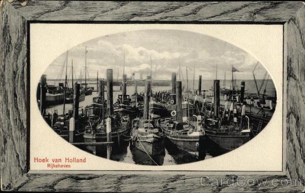 Rijkshaven Hook of Holland Netherlands Benelux Countries