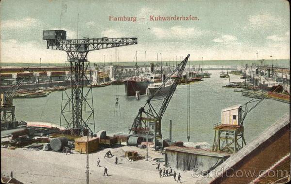 Kuhwarderhafen Hamburg Germany