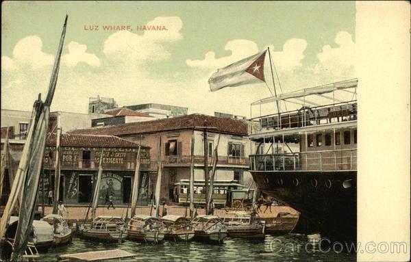 Luz Wharf Havana Cuba