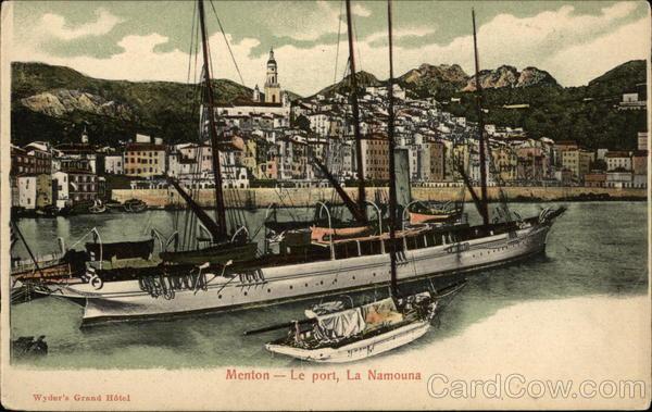 Le Port, La Namouna Menton France