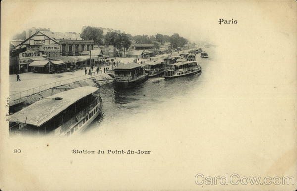 Station du Point-du-Jour Paris France