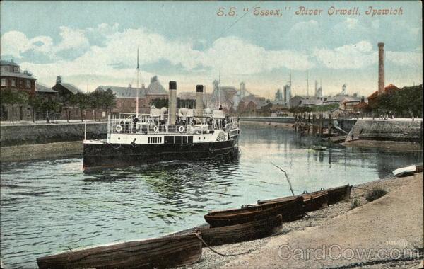 S.S. Essex, Orwell River Ipswich England