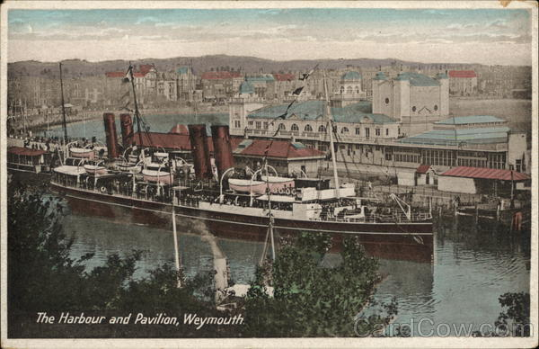 The Harbour and Pavilion Weymouth England Dorset
