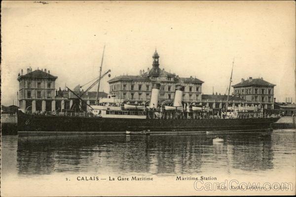 La Gare Maritime Calais France