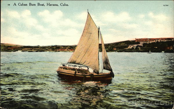 A Cuban Bum Boat Havana
