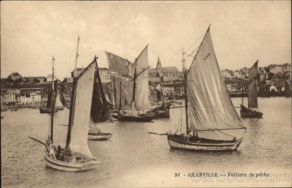 Fishing Boats Granville France
