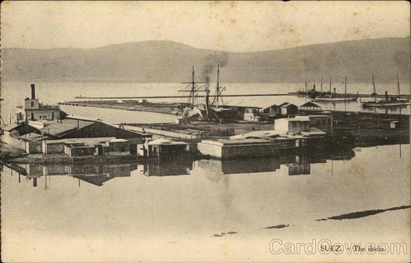 The Docks Suez Egypt Africa