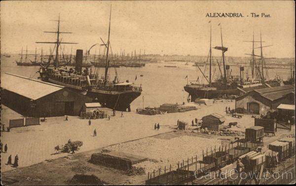 The Post Alexandria Egypt Africa