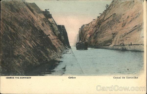 Corinth Canal Greece Greece, Turkey, Balkan States