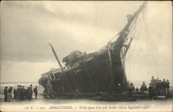 Shipwreck Ambleteuse France