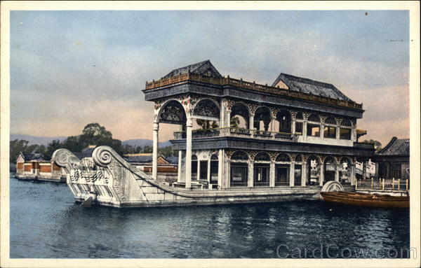 The Marble Boat, Summer Palace Peking China