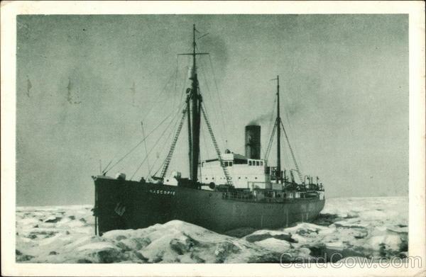 R.M.S. Nascopie - Icebreaker Boats, Ships