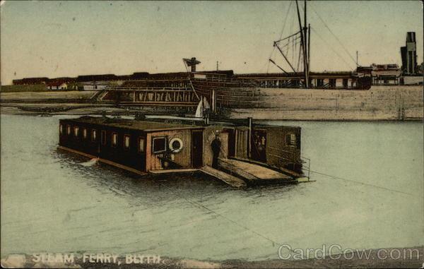 Steam Ferry Blyth England