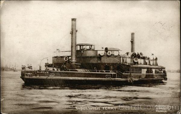 Woolwich Ferry London England