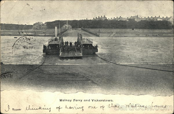 Walney Ferry and Vickerstown Isle of Walney Great Britain