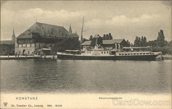 Konziliumsgebaude Konstanz Germany
