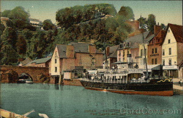 The Rance and St-Malo Boat Dinan France