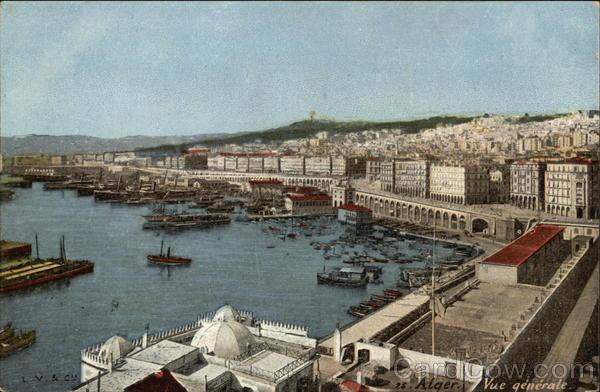General View Algiers Algeria Africa
