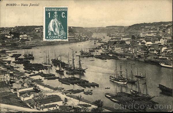 Partial View of City Porto Portugal Spain, Portugal