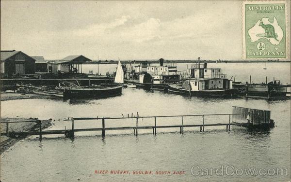 River Murray Goolwa Australia